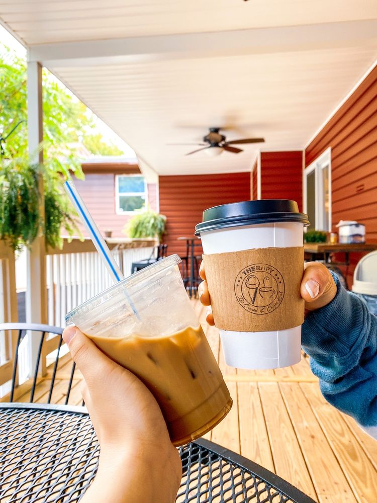 Social Spots from Therapy Ice Cream and Coffee Bar