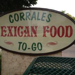 Corrales Mexican Food Ventura Ca