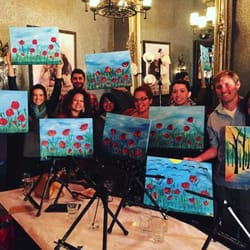 wine and canvas 15 photos party event planning