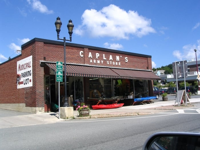Caplan's Army Store: 457 Railroad St, Saint Johnsbury, VT