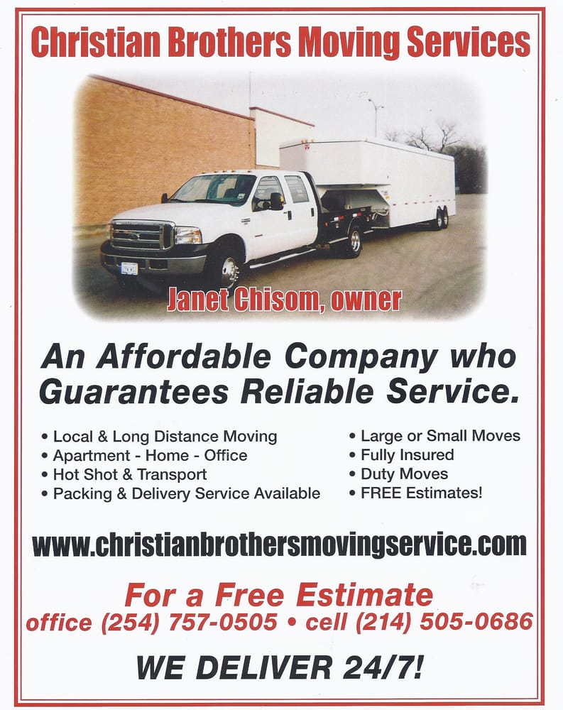Christian Brothers Moving Services: Waco, TX