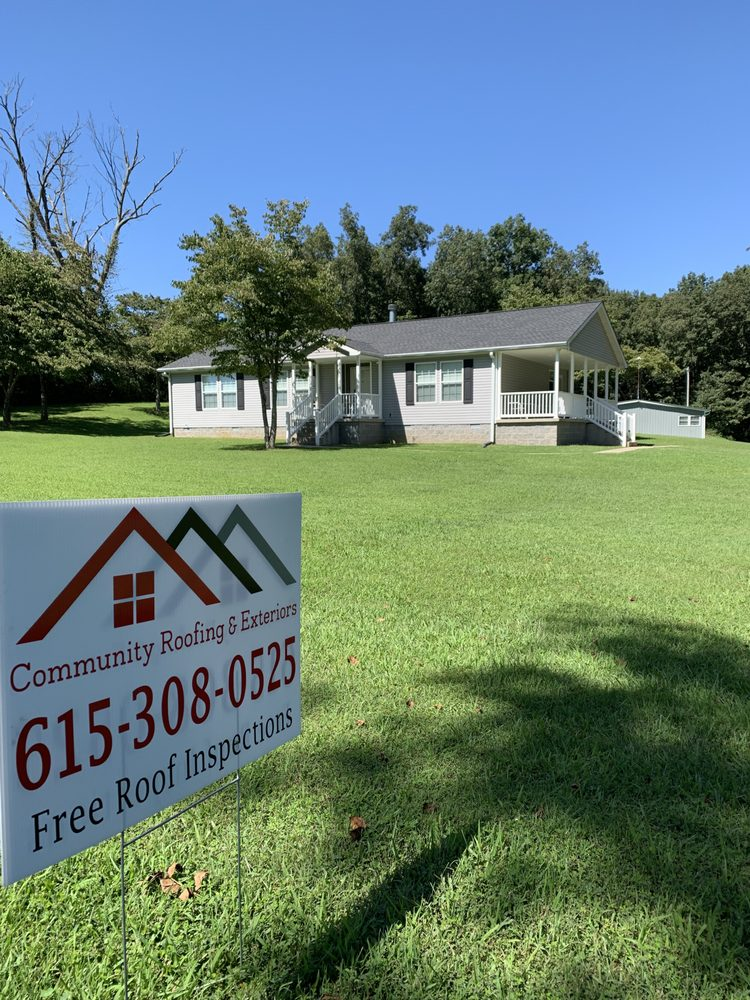 Community Roofing and Exteriors: 1101 North Wrights Ln, Gallatin, TN