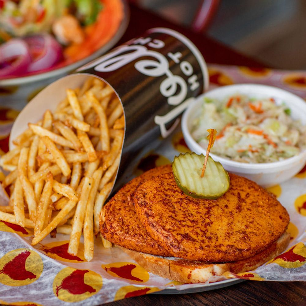 Food from Joella's Hot Chicken - Lexington