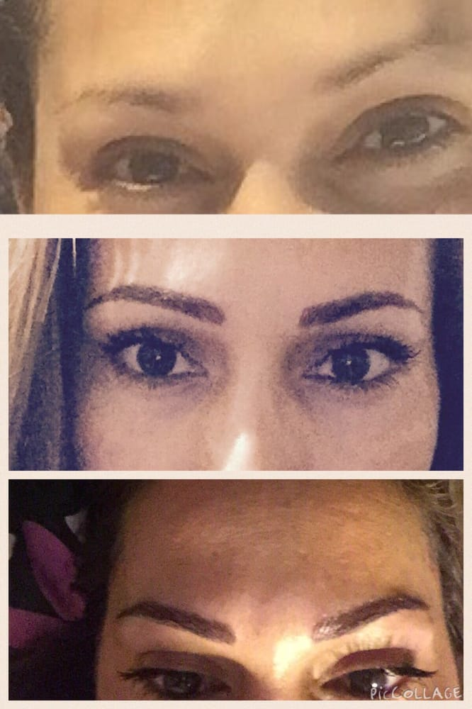 Top picture before procedure yelp for 3d eyebrow tattoo near me