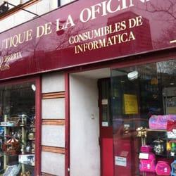 La boutique de la oficina forniture d 39 ufficio avenida for Oficina madrid tetuan dni