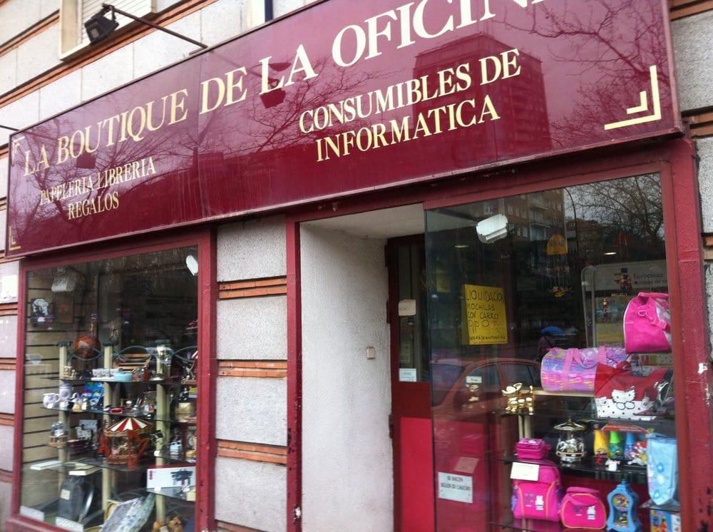 La boutique de la oficina material de oficina avenida for Oficinas ups madrid