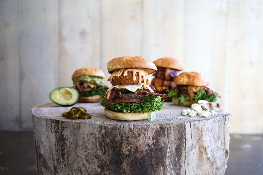 Food from Seven Brothers Burgers