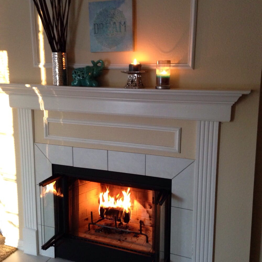 Painters Mill Apartments: The Fireplaces In The Apartments Are Great For Winter!