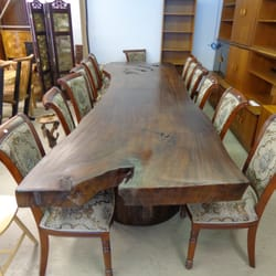 Photo Of Mostly Danish Furniture   Ottawa, ON, Canada. Live Edge Conference  Table