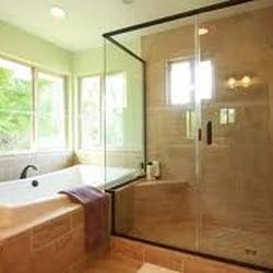 Custom Bath Remodel Davis Plumbing Tile Contractors - Bathroom remodel apex nc