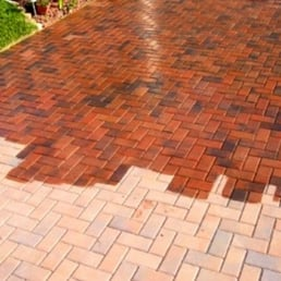 how to clean brick pavers