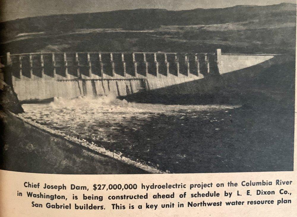 Chief Joseph Dam: Bridgeport, WA