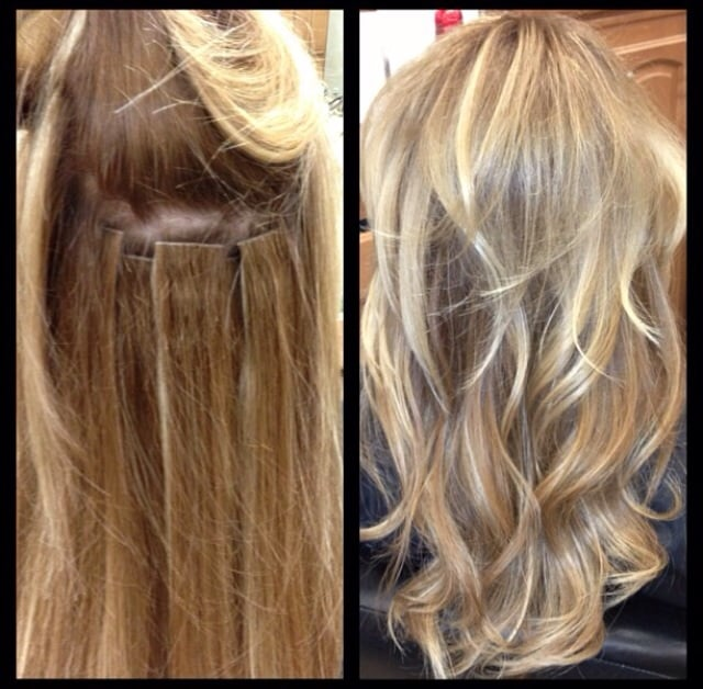 Hotheads Hair Extension Replacement With Added Highlights And Toner