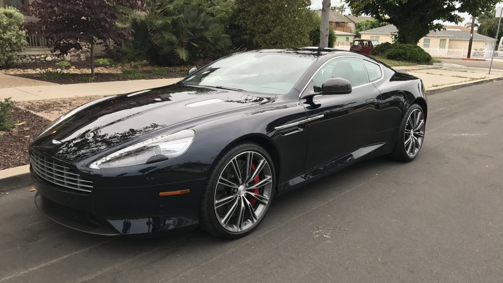 Bought A Preowned Aston Martin DB Love It Yelp - Pre owned aston martin