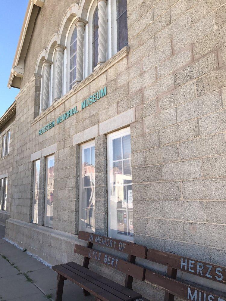 Herzstein Memorial Museum: 22 S 2nd St, Clayton, NM