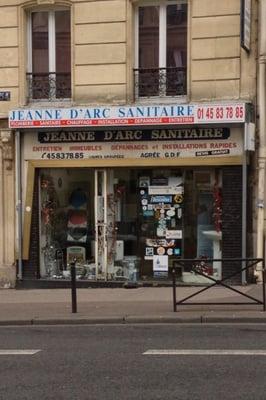 Jeanne d arc sanitaire plombier 54 rue jeanne d 39 arc for Jardin d asie 78 rue baudricourt 75013 paris