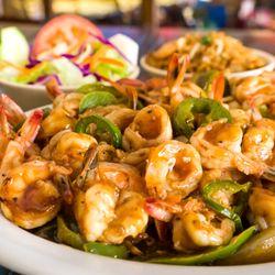 Photo Of Mambo Seafood Katy Tx United States Shrimp Sautéed Ranchero