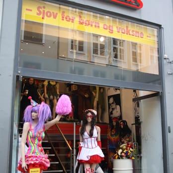 udklædnings butikker i københavn