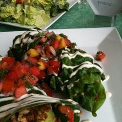 Photo Of Prana Restaurant Newton Ma United States Burrito And Best Salad