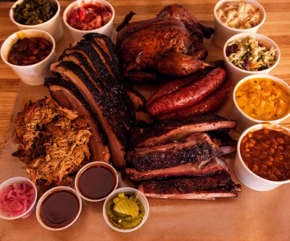 Blu's Barbeque & BBQ Catering: 17630 Preston Rd, Dallas, TX