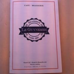 Le Guynemer - Brasseries - 76 rue d'Assas, Luxembourg, Paris, France