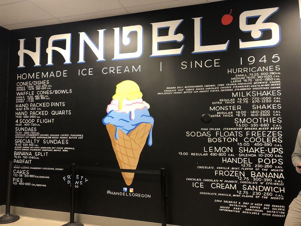 Handel's Homemade Ice Cream: 13539 NW Cornell Rd, Portland, OR