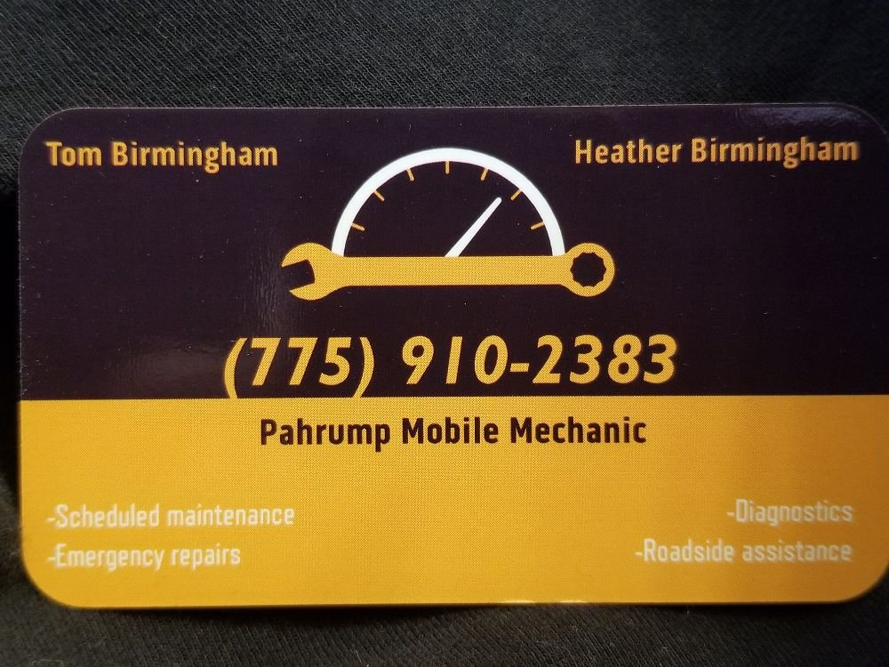 Pahrump Mobile Mechanic: 230 S Corbin St, Pahrump, NV