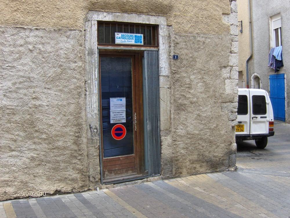 Secours Catholique: 5 rue du Chateau, Ganges, 34