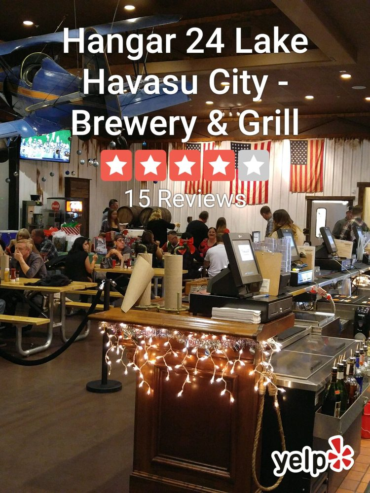Hangar 24 Lake Havasu City - Brewery & Grill - 24 Photos ...