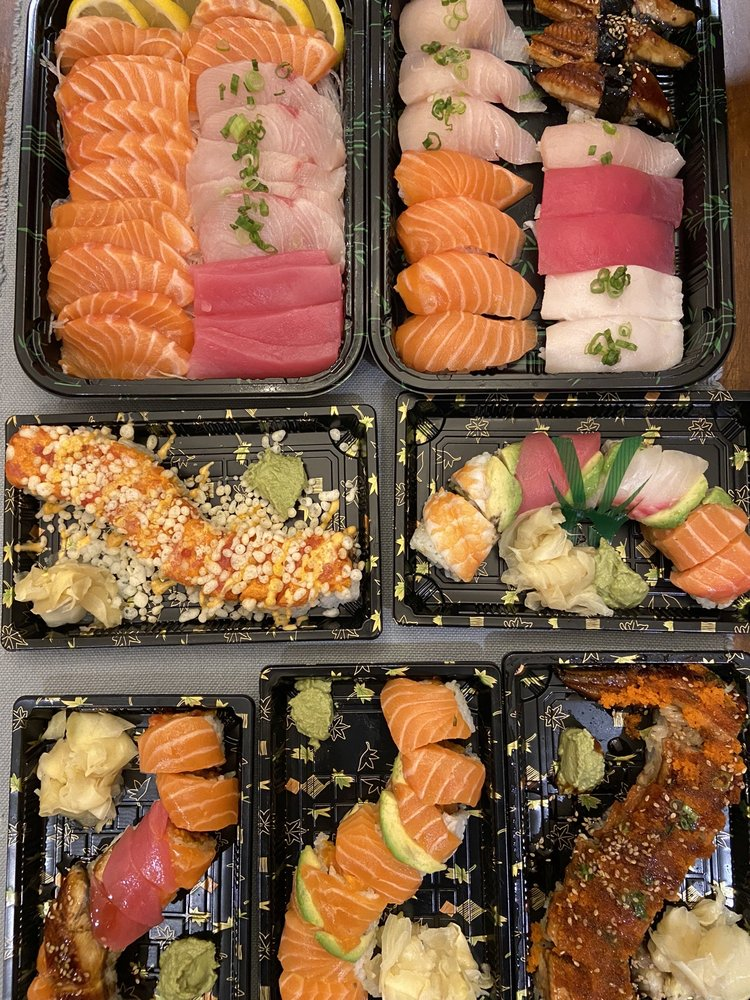 Food from Sushi Gallery