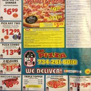 Mr pizza 14 reviews pizza 31434 cherry hill rd Garden city pizza