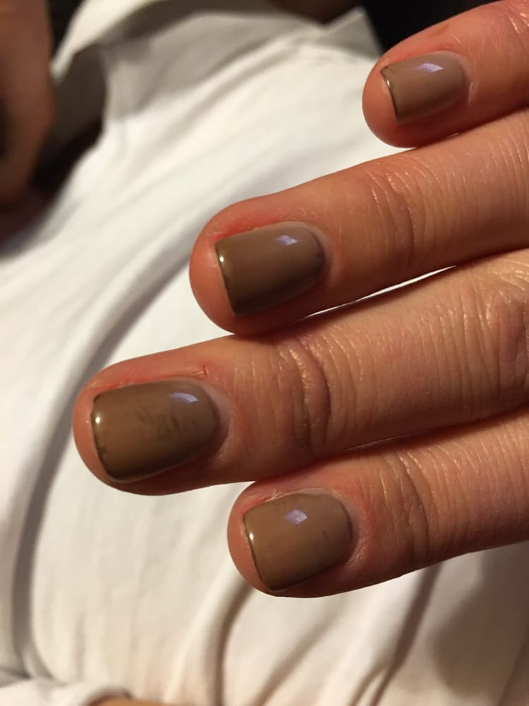 Gel manicure turned my nails black around the polish edges after ...