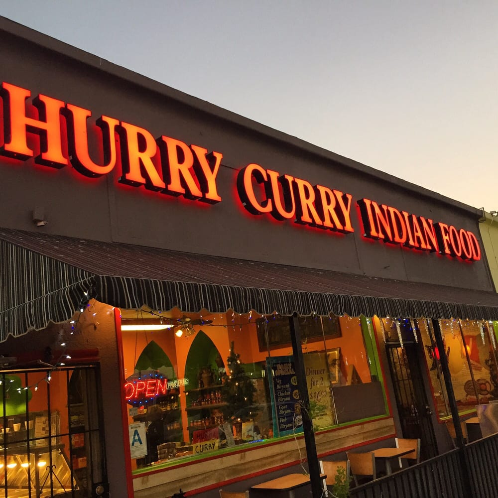 Hurry Curry Indian Food Los Angeles Ca