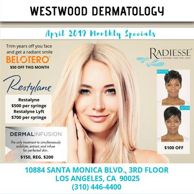 Westwood Dermatology | LA Laser Center 10884 Santa Monica