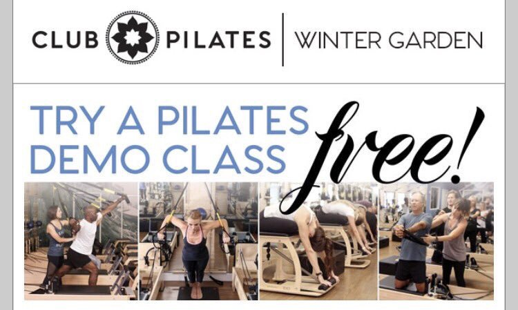 Club Pilates: 13848 Tilden Rd, Winter Garden, FL