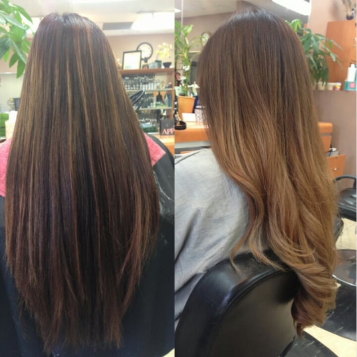 Kim is so talented the ombre whisperer yelp for Allure hair salon