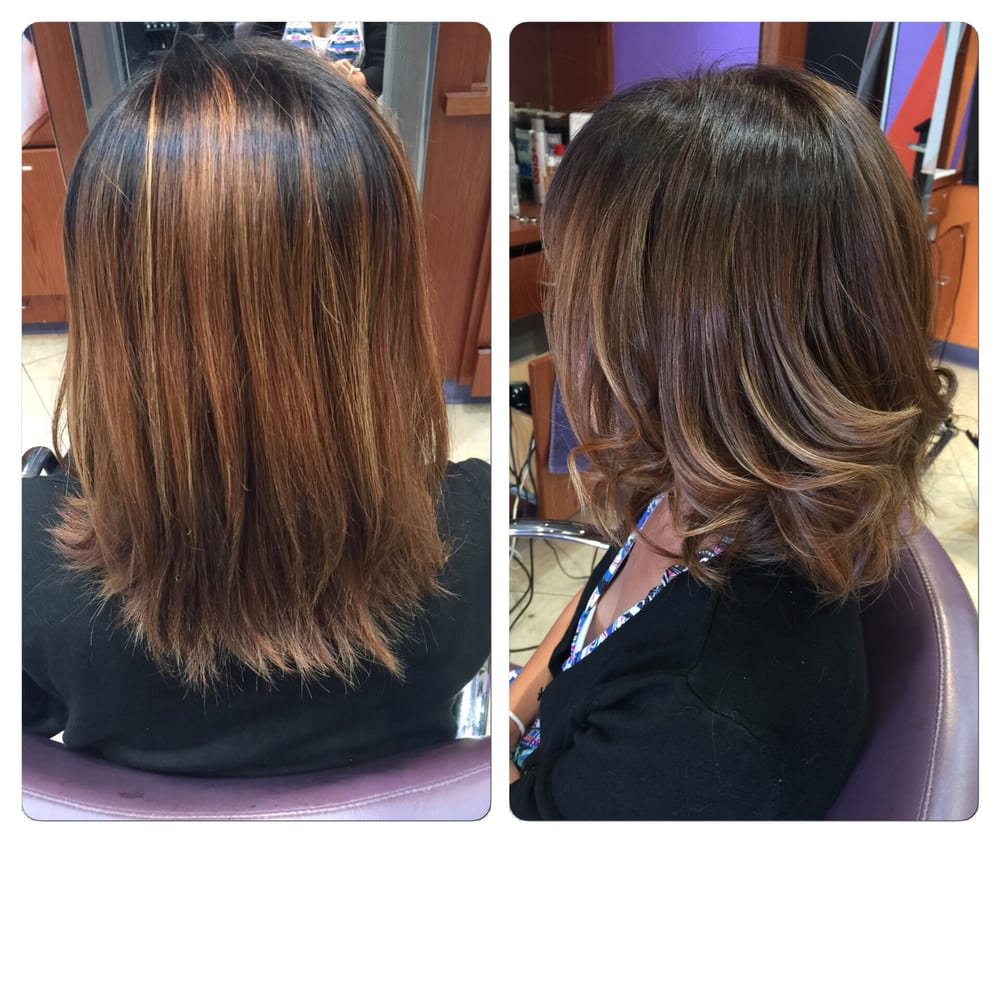 A Soft Balayage Ombre For Short Hair By Jazlie Yelp