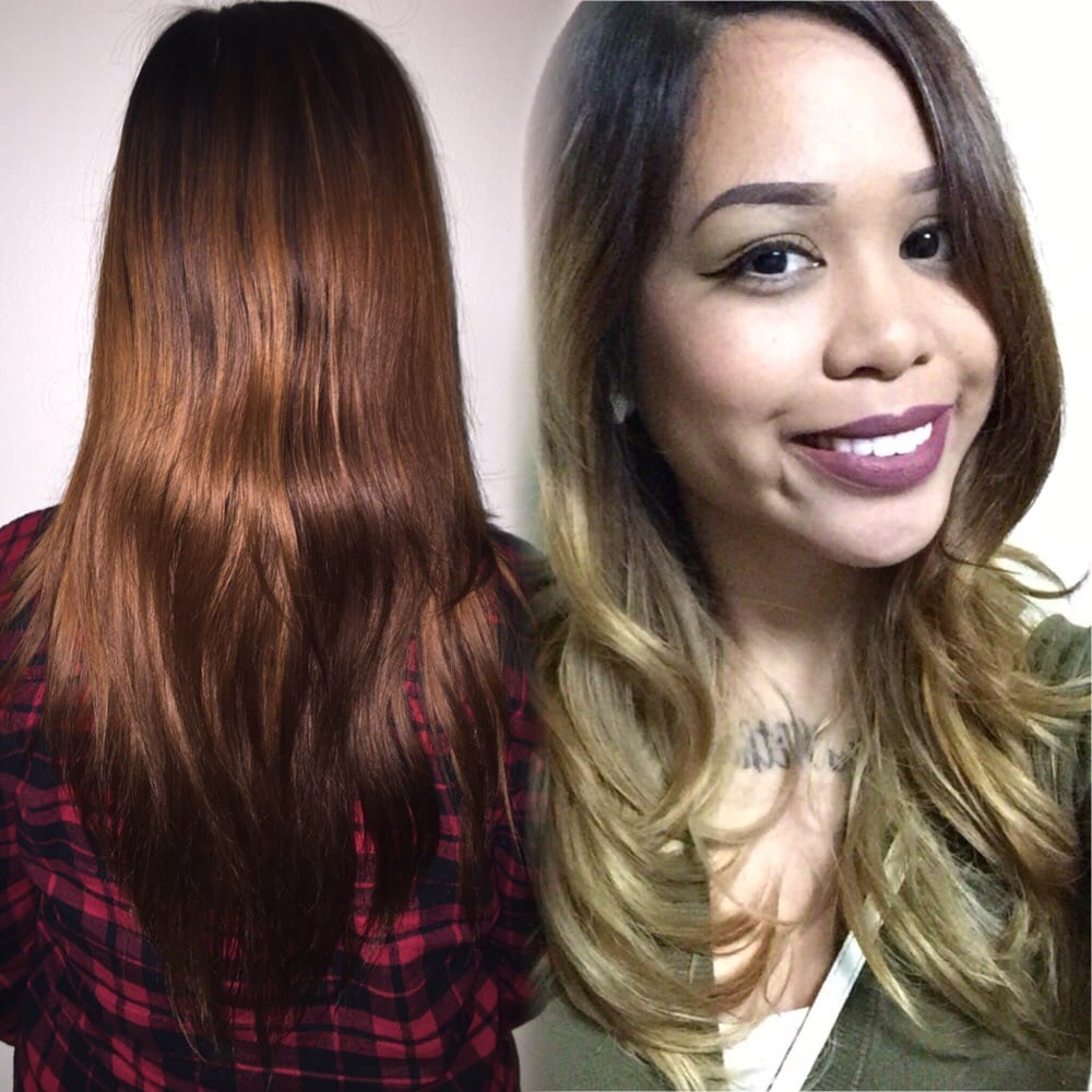 Hair by victoria ashed out balayage with baby lights yelp pmusecretfo Gallery