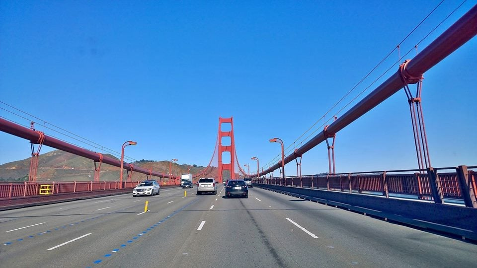 Reminder Ggb Closed This Weekend Due To Moveable Median