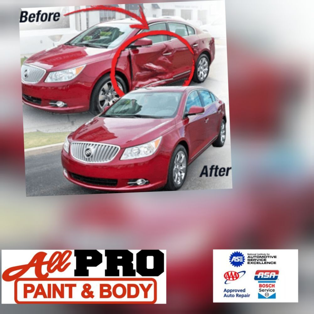 All PRO paint and body: 3011 Houston Hwy, Victoria, TX