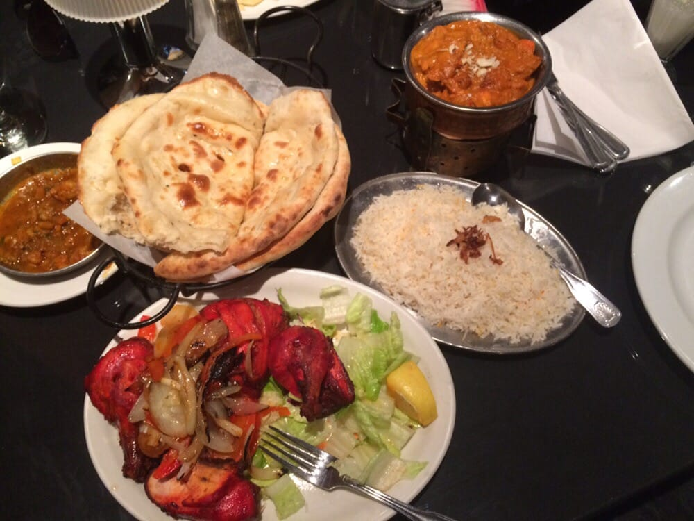 Tandoori chicken naan and butter chicken yelp for Atithi indian cuisine mi