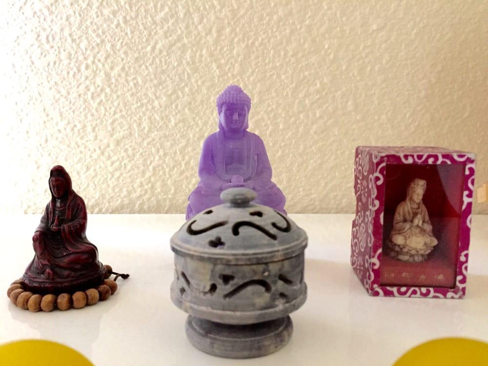 Zen Decorations small zen decorations in the treatment room. - yelp