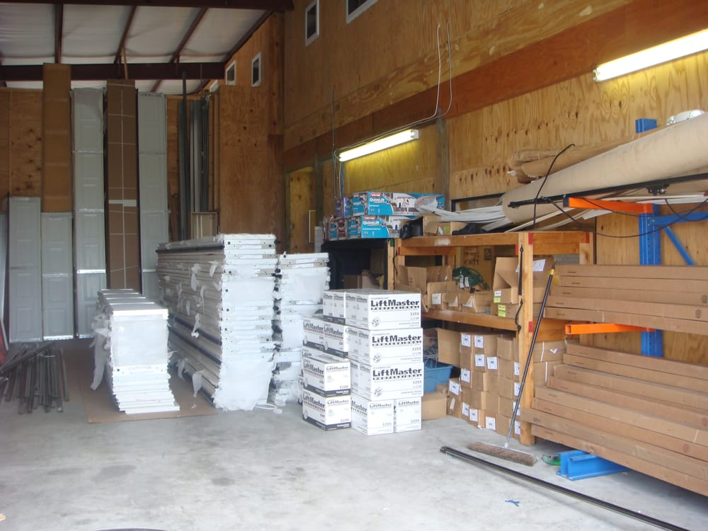 Fully Stocked Warehouse Of Garage Doors, Openers And Parts ...