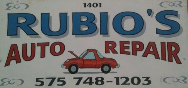 Rubio's Auto Repair: 1401 N 1st St, Artesia, NM