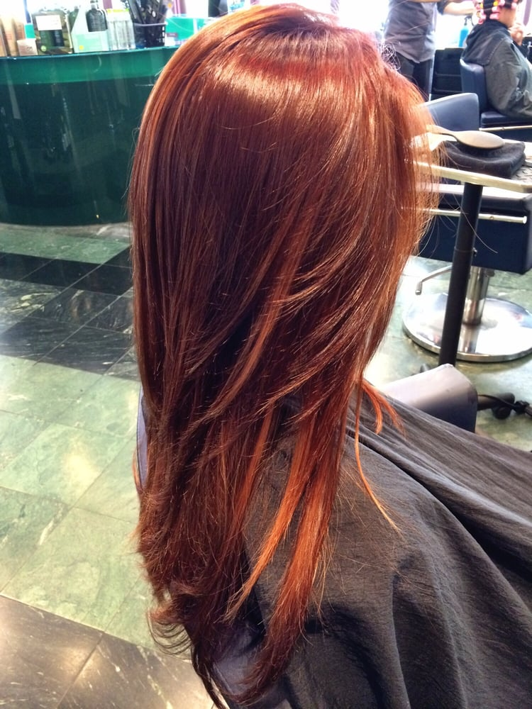 Rose Gold Hair Color Temporary Highlights
