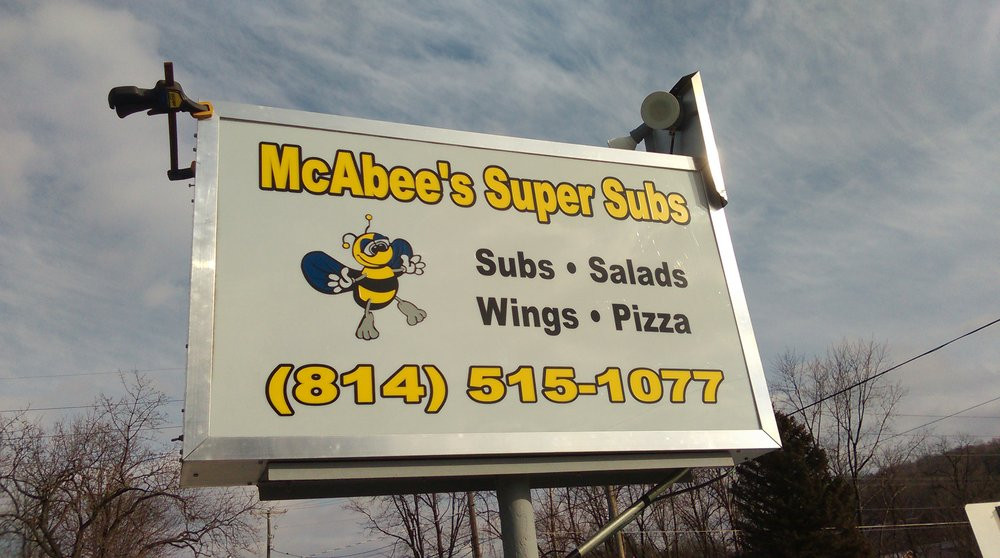 McAbee's Super Subs: 5992 California Ave, Altoona, PA