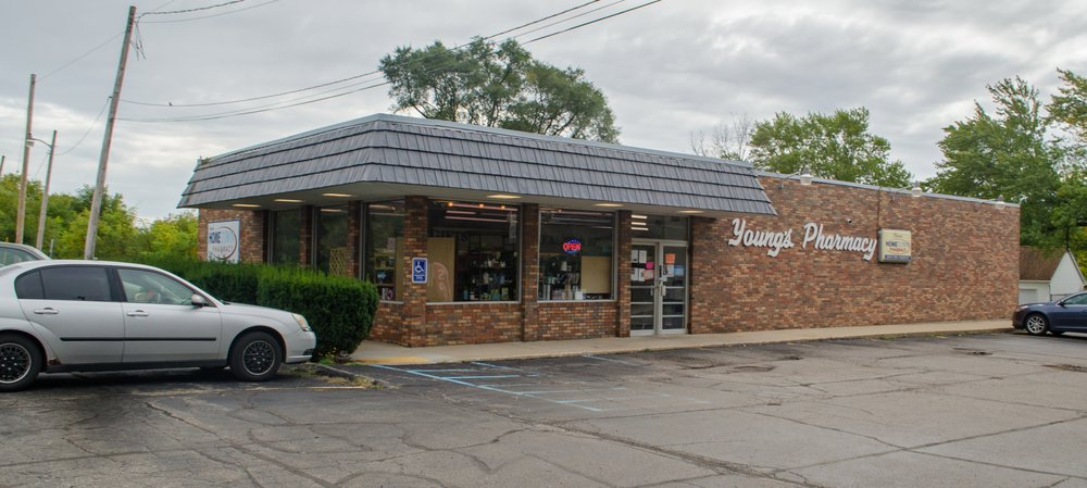 Young's Pharmacy: 120 S Clark St, Albion, MI