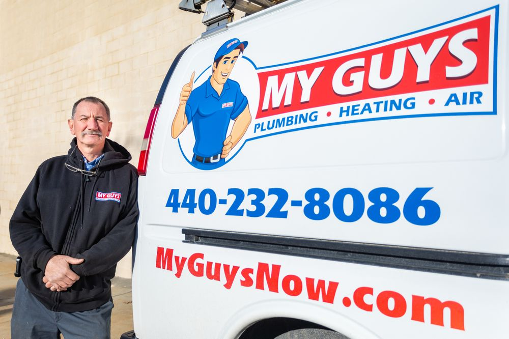 My Guys Plumbing, Heating & Air: 458 Broadway Ave, Bedford, OH