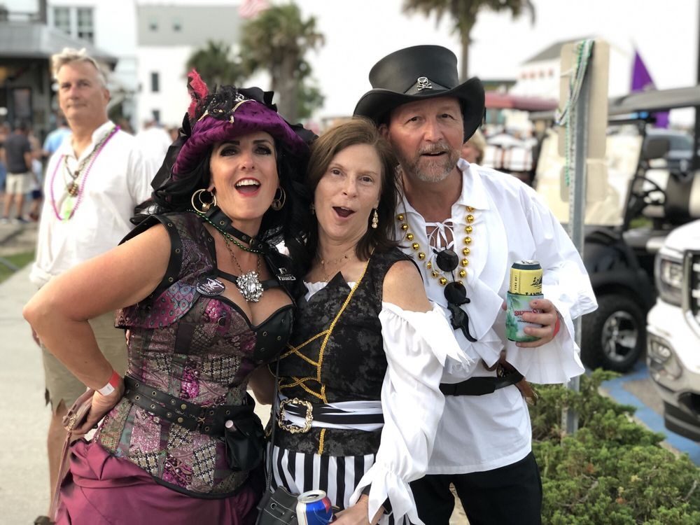 Pirate's Day In The Bay: Court St & S Beach Blvd, Bay St. Louis, MS