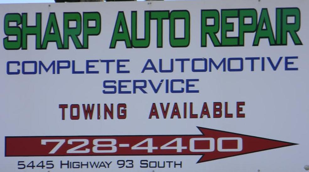 Sharp Auto Repair & Towing: 5445 US Highway 93 N, Florence, MT